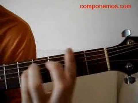 Acordes para guitarra El jinete
