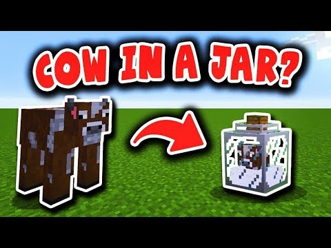HOW TO GET A COW IN A JAR? (Minecraft Boundless Modpack #22)