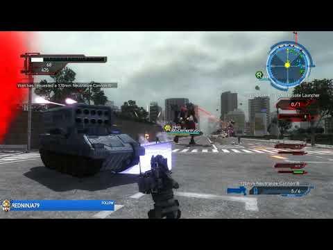 Let's Laugh - Earth Defense Force 5 Co-op - Mission #23 thumbnail