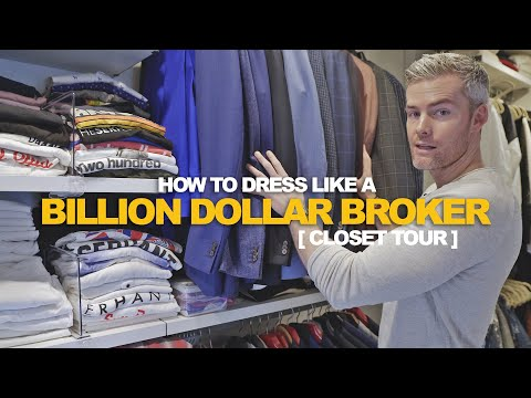 Billion Dollar Broker's Closet Tour | Ryan Serhant Vlog #94