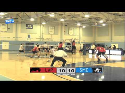 Santa Monica Men's Volleyball vs Los Angeles Pierce College - March 6, 2016 (Full Game)