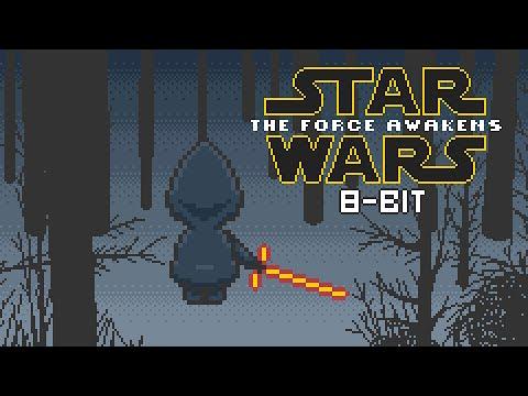 Star Wars The Force Awakens 8 Bit Teaser Youtube