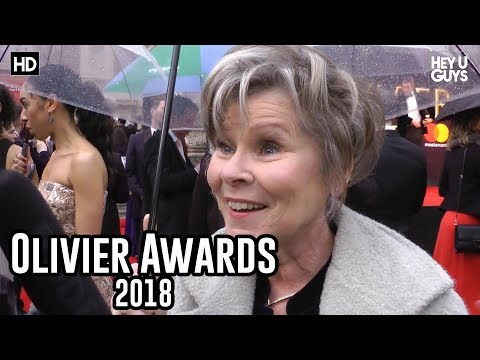 Imelda Staunton  Olivier Awards 2018 Red Carpet