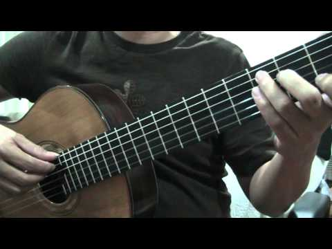 guitar study 12 ฝึกไล่สเกล C Major