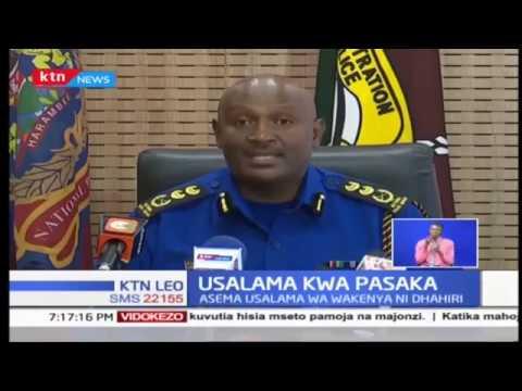 Inspecta mkuu wa polisi atoa taarifa rasmi akizungumzia usalama nchini