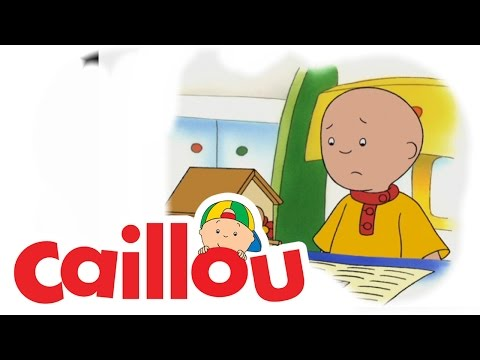 Caillou - A Surprise for Mommy  (S02E20) | Cartoon for Kids