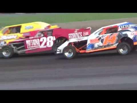 IMCA Sportmod Heat 3 Boone Speedway Boone Iowa 8/20/16