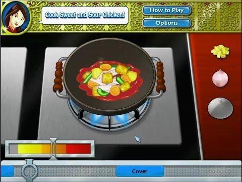 เกมส์ทำอาหาร ไก่ผัดเปรี้ยวหวาน - Sweet and Sour Chicken Cooking Game 탕수육,糖醋鸡,甘酸っぱいチキン