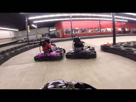 Chase making laps at Rockstar Racing