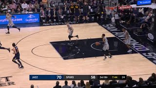 3rd Quarter, One Box Video: San Antonio Spurs vs. Utah Jazz