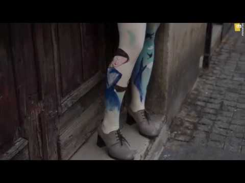 Blue Girl in the City | Movanas Fashion Video