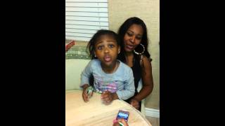 "5yr Old Singing ""Trust & Believe"" By Keyshia Cole"