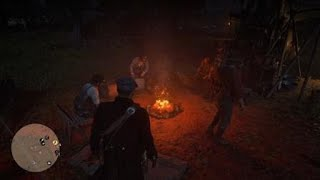 Red Dead Redemption 2 - Cozy campfire :-} thumbnail