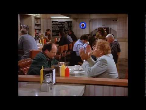 Frank Costanza Best  Ever How Could Jerry not Say Hello!  Seinfeld