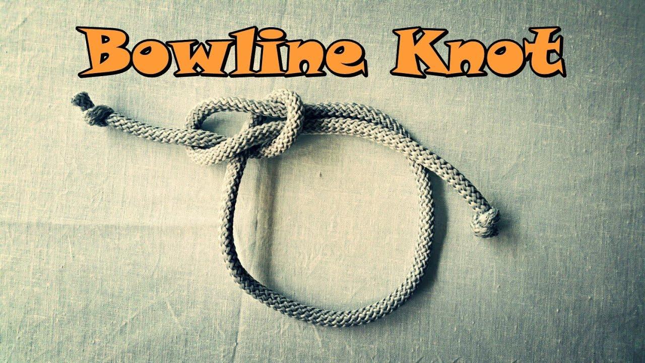 How to make a Bowline Knot? - Как сделать Узел Булинь?