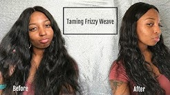 Eliminating Frizz in Weave | Wig Care