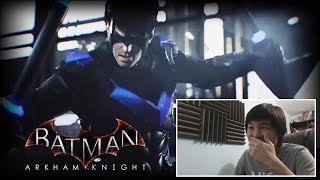 Batman Arkham Knight - Nightwing and Tumbler Batmobile Trailer! [unCAGEDgamez Reaction]