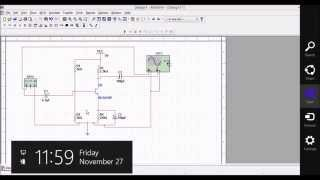 How To Draw CE Amplifier Circuit Using Multisim Software