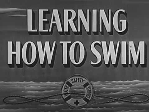 American Red Cross - Water Safety Service - Learning How To Swim - Cinematic P.S.A. - 1938
