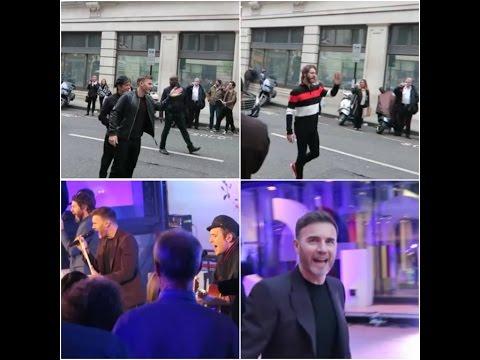 Take That BBC Radio 2 and BBC One Show London 31/03/17