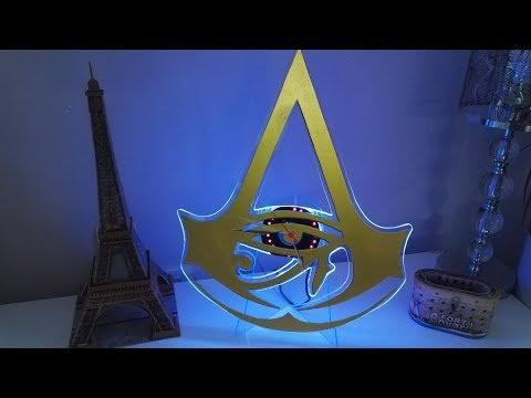 Fabriquer une Horloge à LED Assassin's Creed