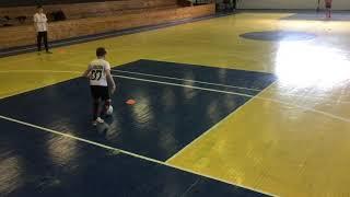 Учебно тренировочное занятие с детьми по мини футболу Футбол тренировка