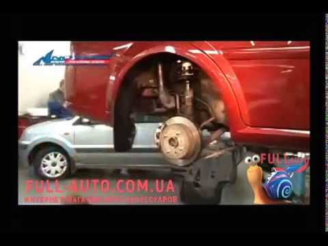 Пример установки подкрылок на автомобиль