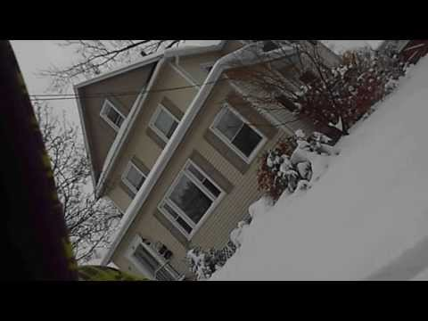 ASS in Snow bank