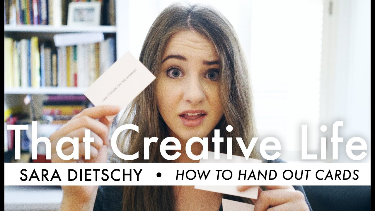 Youre handing out business cards wrong that creative life ep011 youre handing out business cards wrong that creative life ep011 youtube colourmoves