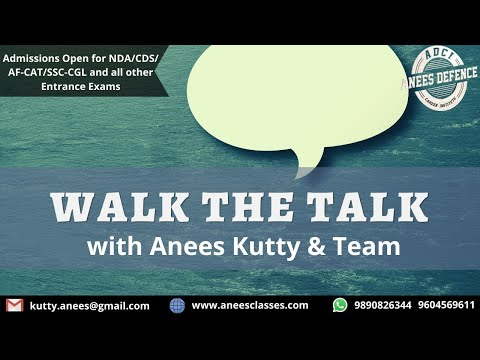 Aneespedia-Walk the Talk with Anees Sir and team, ADCI | PUNE