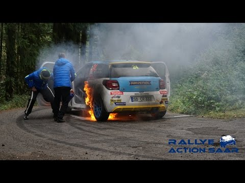 Rallye de Luxembourg 2016 | Car on Fire