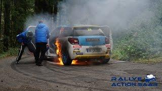 Rallye de Luxembourg 2016 | Car on Fire