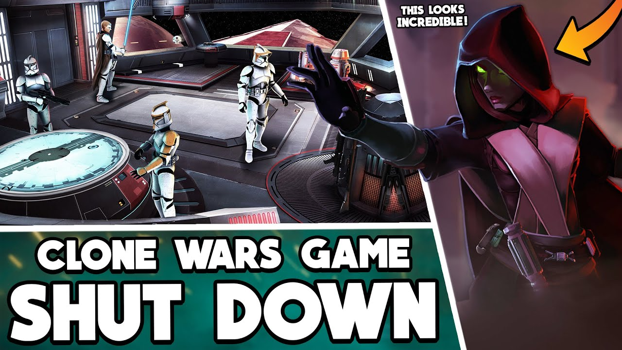This INCREDIBLE Clone Wars-era Star Wars Game was just shut down… but we could save it!