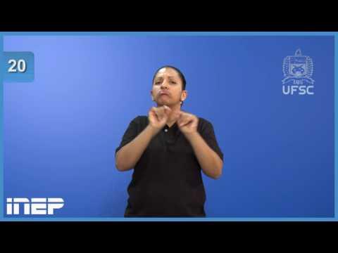 Exemplo de vídeo prova traduzida em Libras