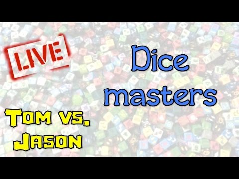 Jason vs. Tom in Dice Masters: Live!