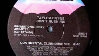 TAYLOR DAYNE - Don