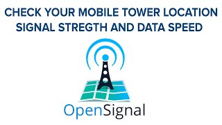 OPEN SIGNAL APP | CHECK YOUR MOBILE SIGNAL STRETCH AND TOWER LOCATION screenshot 3