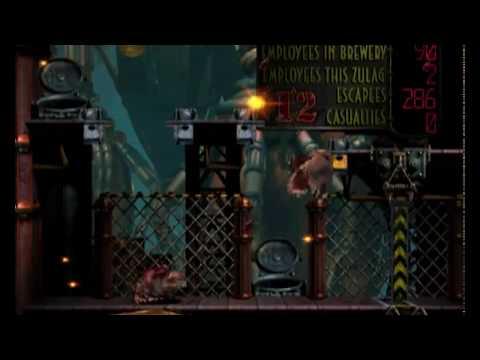 Oddworld Abe's Exoddus Walkthrough – Final Part : Soulstorm Brewery + Perfect Ending (all 300) [HD]