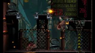 Oddworld Abe's Exoddus Walkthrough - Final Part : Soulstorm Brewery Perfect Ending (all 300) [HD]