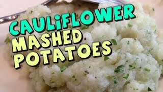 Cauliflower Mashed Potatoes Recipe (low Carb/high Fiber)