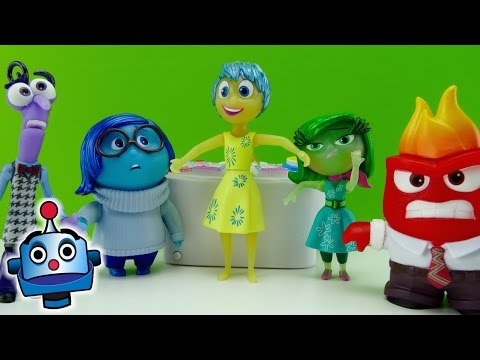 Inside Out Consola y Figura Exclusiva The Console and Lights Up Figures - Juguetes de Inside Out