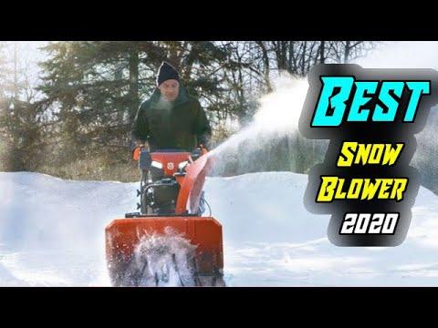 Best Snow Blower 2020.Top 5 Best Snow Blower In 2020