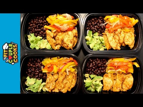 How to Meal Prep Ep. 19 CHICKEN FAJITAS