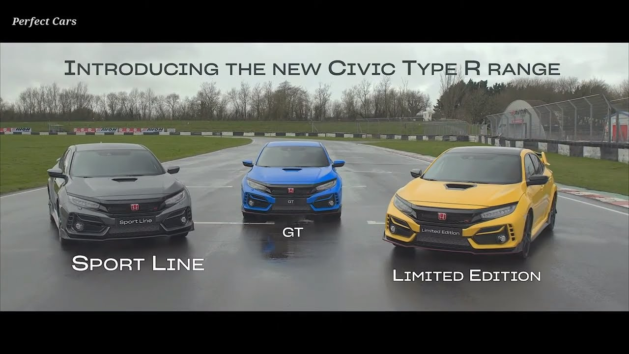 2021 honda civic type r all new models  youtube