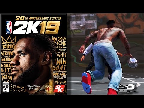 NBA 2K19 LeBron James Cover & New Feature? 20th Anniversary Edition
