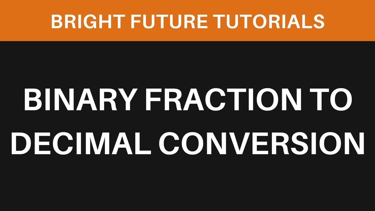 how to make fractions a decimal