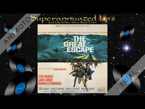 THE GREAT ESCAPE elmer bernstein Side One