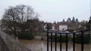 River Thames Flooding at Abingdon Bridge