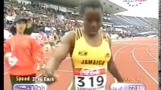 Campeonato mundial junior de Atletismo. Santiago de Chile 2000