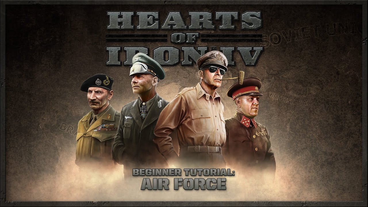 Hearts of Iron IV - Beginner Tutorial - Air Force